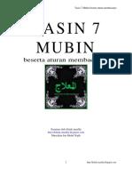 [PDF] Yasin 7 Mubin