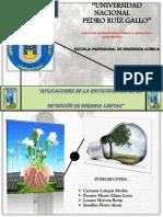 Aplicaciones de La Biotecnologia en La Produccion de Energias Limpias 1.