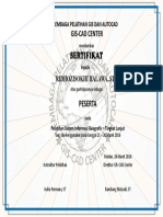Lembaga Pelatihan Gis Dan Autocad