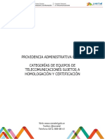 Providencia Administrativa Nº 736