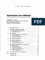 Hydrocarbon From Methanol