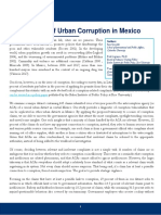 A Diagnostic of Urban Corruption in Mexico