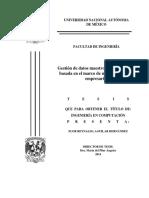 Gestion de Datos (Tesis)