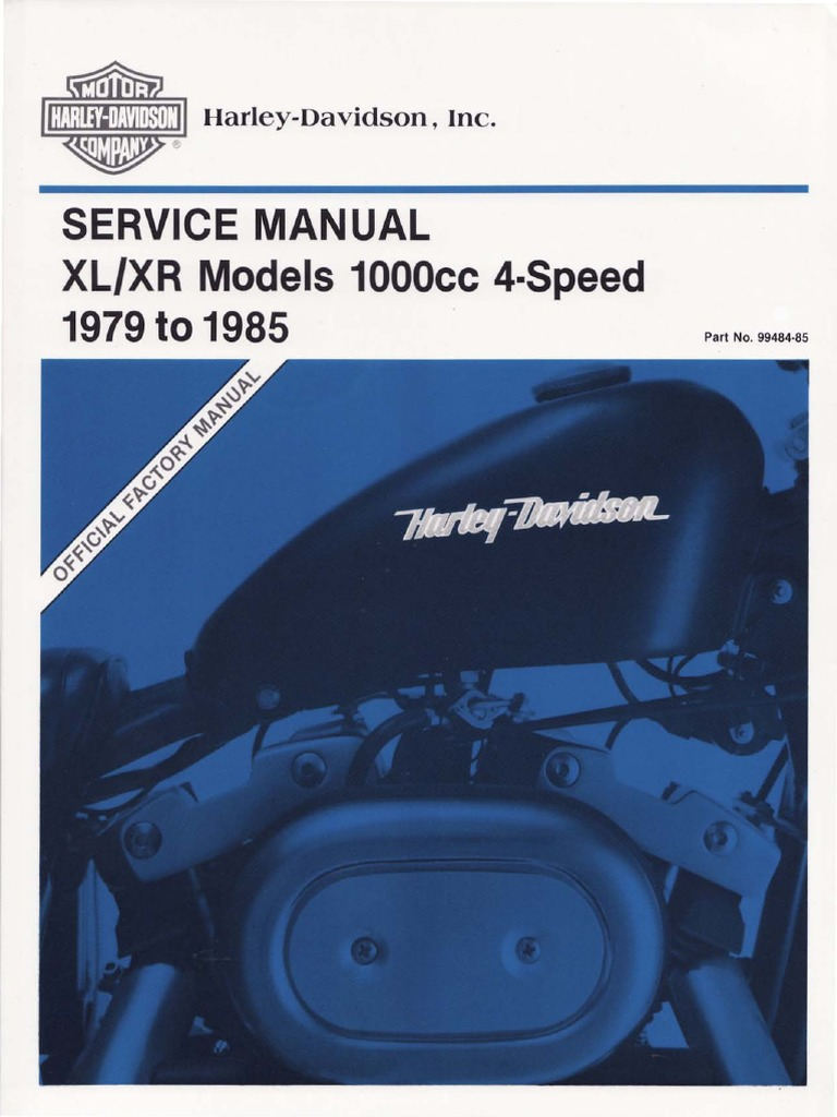 15466566-HDSMSMR11XXX-Harley Davidson Sportster Models Service Manual  Repair 1979-1985 Xlch Xlh Xls   Cylinder (Engine)   Piston [ 1024 x 768 Pixel ]