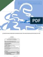 Yamaha Diversion XJ6 Owner's Manual (XJ6N/XJ6NA 20S-28199-E4)