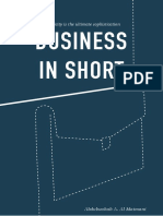 Business in Short (eBook), Abdulwahab A. Al Al Maimani