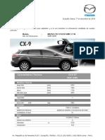Mazda Cx9 Gt 3.7 v6