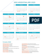 Calendario Del Ano 2020 En Colombia.Calendario Colombia 2018 Calendario Colombia