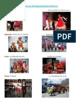 Danzas de Los 24 Departamentos Del Perú