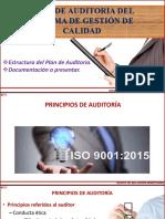 PLAN DE AUDITORIA DEL SISTEMA DE GESTIÓN DE CALIDAD2 copy