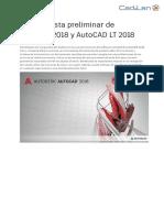 AutoCAD2018 PreviewGuidel ES