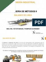 Ingeniería de Métodos II - Balance de Línea