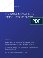 NewKnowledge Disinformation Report Whitepaper 121718