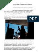 Contralinea.com.Mx-López Obrador Como Caifás Respuesta a Rolando Armesto Walkhoff