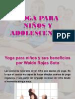 Yoga para Niños y sus beneficios