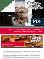 Maestría en Derecho Procesal Laboral 2018 Cep Ags.