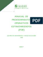 Manual de Procedimientos Operativos Esta