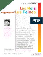 Les Rois-Les Reines Gallimard