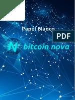 Papel Blanco Bitcoin Nova
