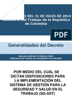Decreto 1443 Del 2014 Sg Sst