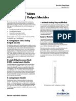 d301672x012 Modulo de Entradas - Salidas Analogicas Controlwave