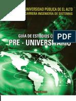 Guia de Estudio Pre - Universitario