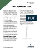d301675x012 Modulo de Entradas - Salidas Digitales Controlwave