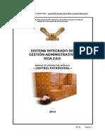001-Manual Control Patrimonial