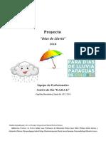 Proyecto Día de Lluvia Equipo de Profesionales d.a.r.c.e.2doc