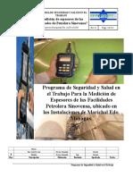 Programa de seguridad industrial