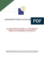 Guida allo studente 2018/2019
