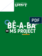 E-book Bê-A-bá Do Ms Project