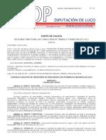Convenio Transportes Lugo