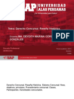 Tema- Derecho Concursal. Reseña Histórica.