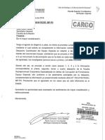 Informe presentado por Rafael Vela a Pedro Chávarry