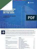 Blueprint for Business Leadership on the SDGs