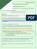 Práctica 1 – Preparación de Disoluciones (Conceptos Previos)