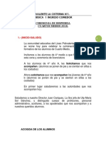 LIBRETO GRADUACION 2018