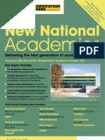 Academies Conference Brochure