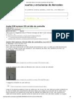 Anular EGR Motores CDI Sin Fallo de Centralita _ Mercedes-Benz