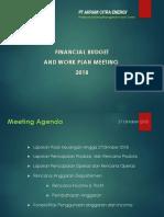 Financial Budget Dan Works Plan