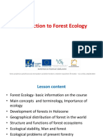 L1_Introduction to Forest Ecology