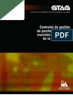 Controles de gestión de parches y cambios