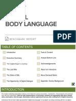 Digital Body Language Benchmark Report
