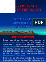 Capitulo II Fotogrametria Geodesia y Cartografia