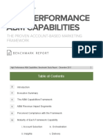 High Performance ABM Capabilities Benchmark Report