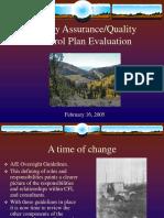 QAQC Evaluation.ppt