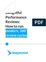 How to Run 360 Performance Reviews eBook Leapsome