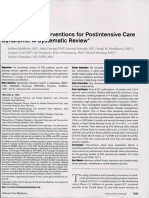 Rehabilitation Interventions for Postintensive Care Syndrome a Systematic a Review - Mehlhorn2014