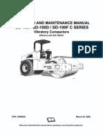 Ingersoll Rand SD100 Manual de Mantenimiento y Operacion Series 188570